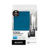Sony CP-F5 Portable USB Charger 5000mAh Blue