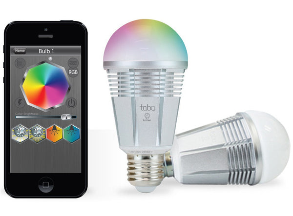 Tabu Lumen TL800 App Enabled LED Color Smart Bulb