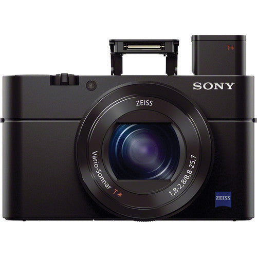 Sony Cyber-Shot DSC-RX100 III Black Digital Camera