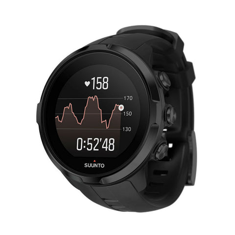 Suunto Spartan Sport SS022662000 Wrist HR Watch (Black)