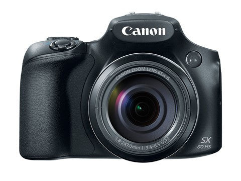 Canon PowerShot SX60 HS Black Digital Camera