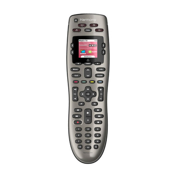 Logitect Harmony 650 Infrared Remote Control (Silver)