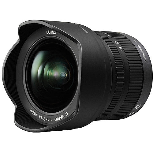 Panasonic Lumix G Vario 7-14mm f4 ASPH Black Lens