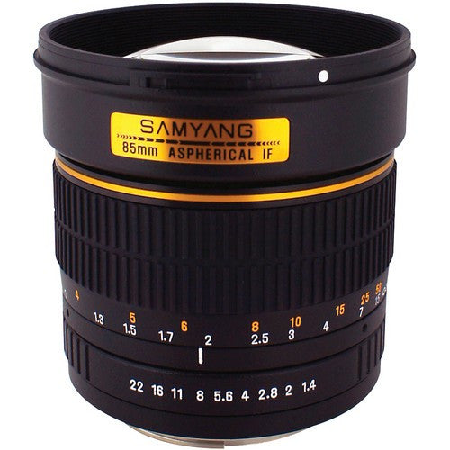 Samyang 85mm f1.4 Aspherical IF Lens for Sony E mount