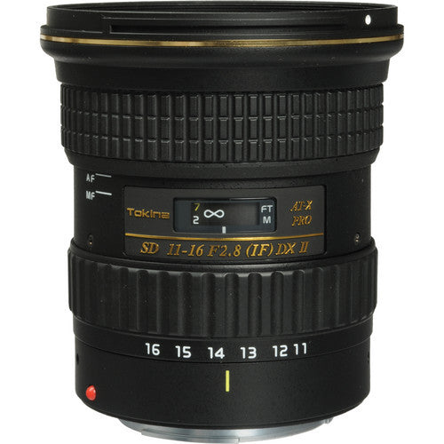 Tokina AT-X 116 PRO DX II 11-16mm f/2.8 (Nikon) Lens