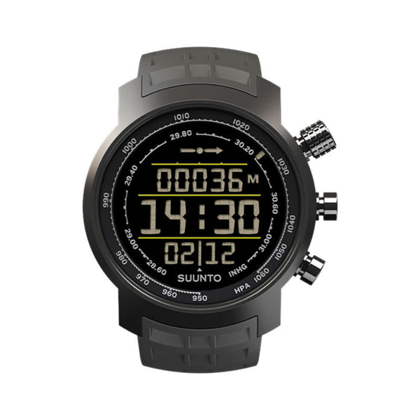 Suunto Elementum Terra SS020336000 Sports Watch Stealth N/ Gray Rubber