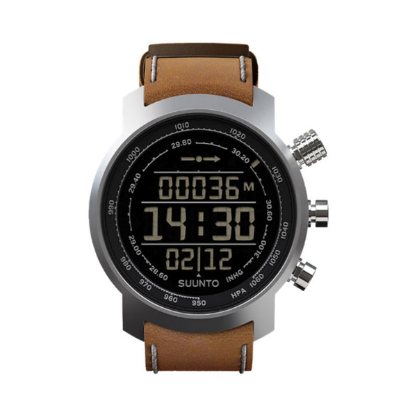 Suunto Elementum Terra SS018733000 Sports Watch Brown Leather