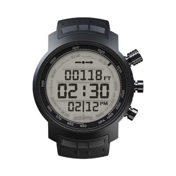 Suunto Elementum Terra SS018732000 Sports Watch Black Rubber/Light Display
