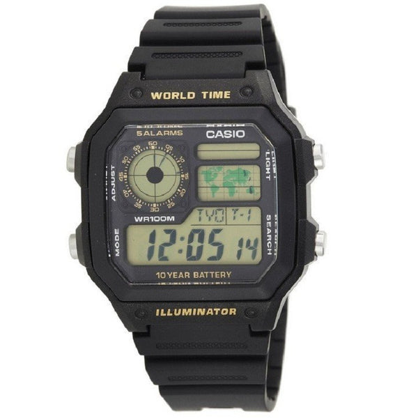 Casio Classic Digital AE-1200WH-1B Watch (New with Tags)