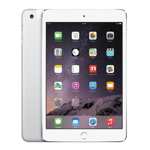 Apple iPad Mini 3 16GB 4G LTE Silver Unlocked