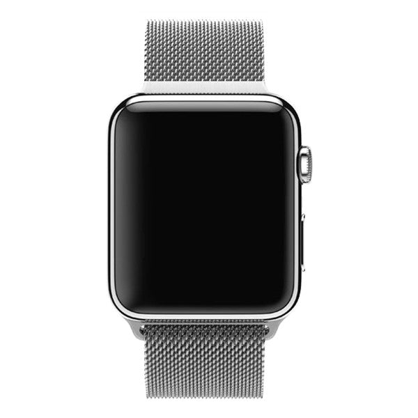 Apple Watch 38mm Stainless Steel Case Milanese Loop MJ322