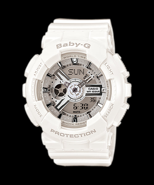 Casio Baby-G Standard Analog-Digital BA-110-7A3 Watch (New With Tags)