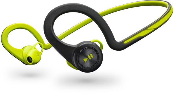 Plantronics BackBeat Fit Wireless Stereo Headset with Microphone (Green)