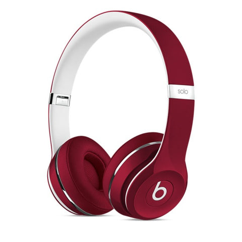 Beats Solo 2 Luxe Edition On-Ear Headphone ML9G2PA/A (Red)