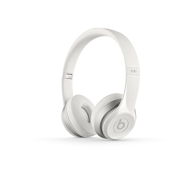 Beats Solo2 White On Ear Headphone (MHBX2PA/A)