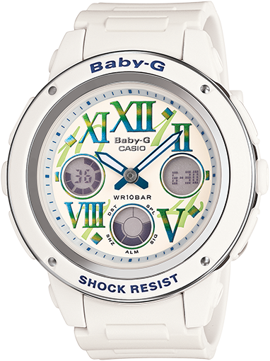 Casio Baby-G BGA-150GR-7B Watch (New with Tags)