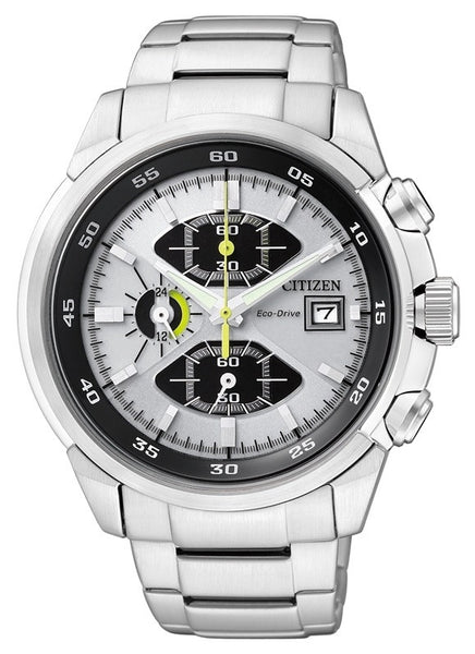 Citizen Eco-Drive Chronograph Sports CA0130-58A Watch (New with Tags)