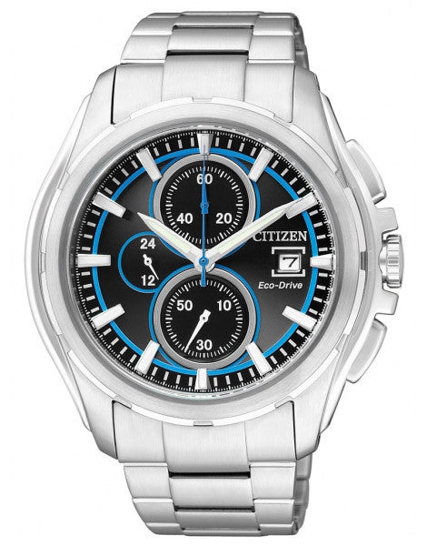 Citizen Eco-Drive Chronograph Sports CA0270-59E Watch (New with Tags)