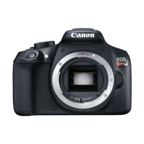 Canon EOS 1300D (Rebel T6) Body Black Digital SLR Camera (Kit Box)