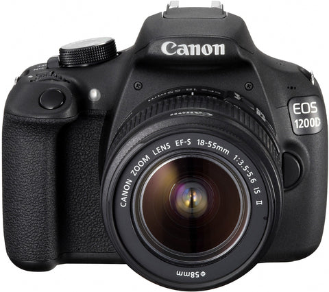 Canon EOS 1200D Kit with EF-S 18-55mm IS II Lens Black