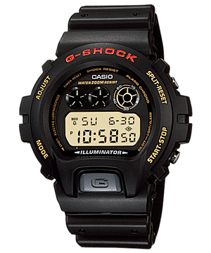 Casio G-Shock Standard Digital DW-6900G-1V Watch (New with Tags)
