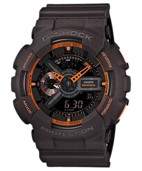 Casio G-Shock Special Color Model GA-110TS-1A4 Watch (New with Tags)