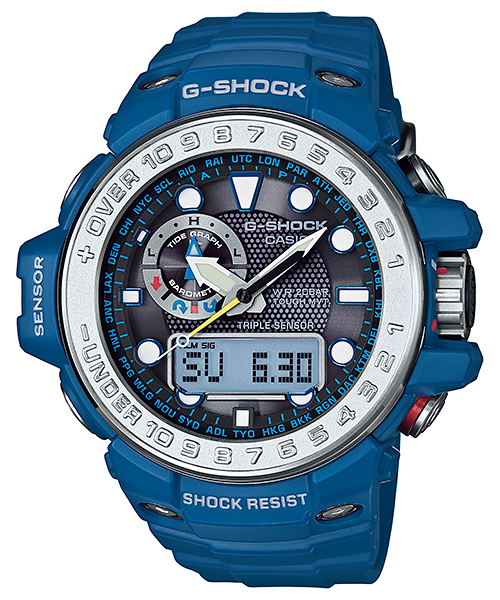 Casio G-Shock Gulf Master GWN-1000-2A Watch (New with Tags)