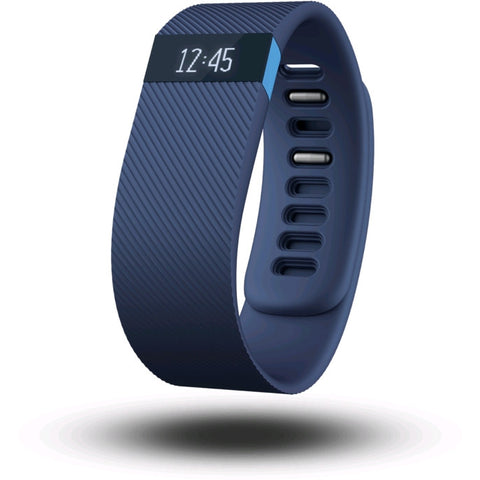 Fitbit Charge HR FB405BUL Wireless Heart Rate and Activity Wristband Large (Blue)