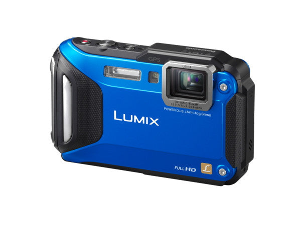 Panasonic Lumix DMC-FT6 Blue Digital Camera