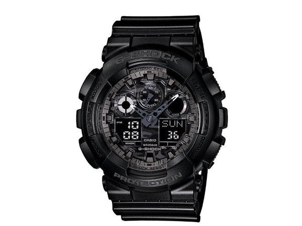 Casio G-Shock Analog-Digital GA-100CF-1A Watch (New with Tags)