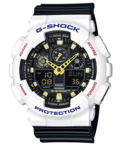 Casio G-Shock GA-100CS-7A Watch (New with Tags)
