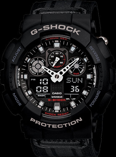 Casio G-Shock Limited Model GA-100MC-1A Watch (New With Tags)