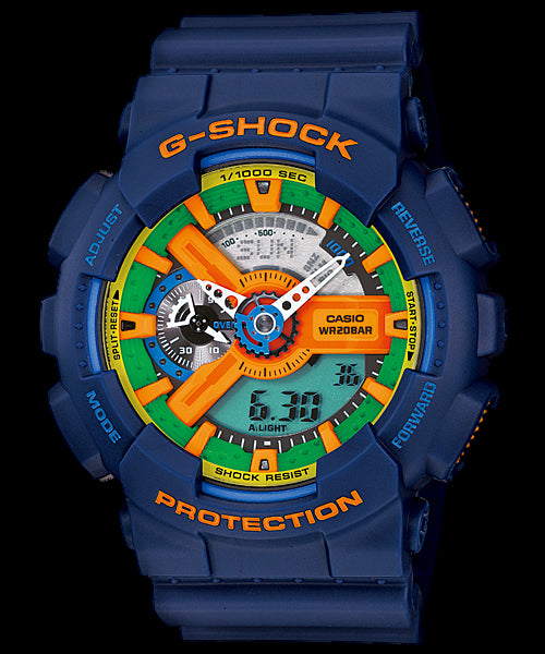 Casio G-Shock GA-110FC-2A Watch (New With Tags)