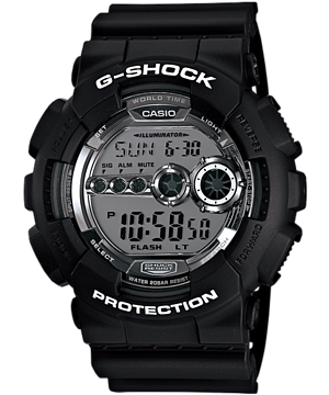 Casio G-Shock Special Color GD-100BW-1 Watch (New with Tags)