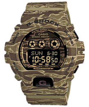 Casio G-Shock Camouflage Digital GD-X6900CM-5 Watch (New with Tags)