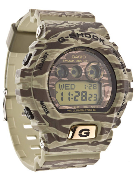 Casio G-shock Camouflage Digital GD-X6900TC-5 Watch (New with Tags)