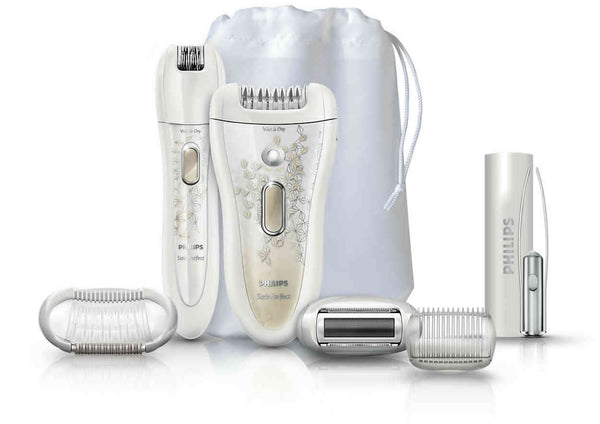 Philips SatinPerfect HP6581 Epilator Wet And Dry Deluxe Edition