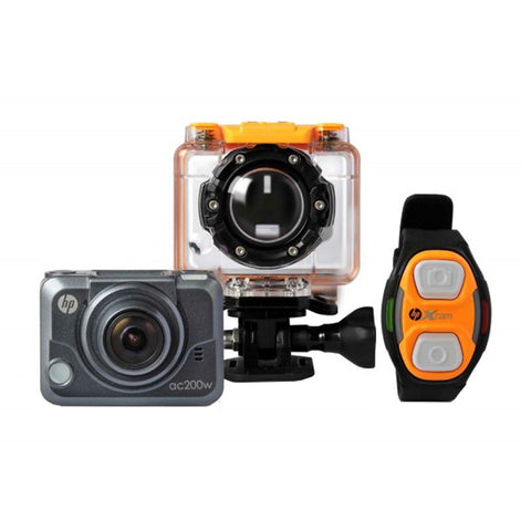 HP AC200W Black Digital Action Camera
