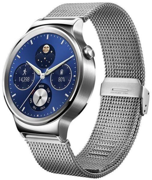 Huawei Mesh Silver Stainless Steel Smart Watch (Silver Case)