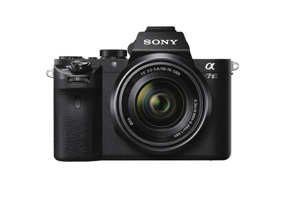 Sony Alpha 7II ILCE-7M2 with 28-70mm f3.5-5.6 Lens Black Mirrorless Digital SLR Camera