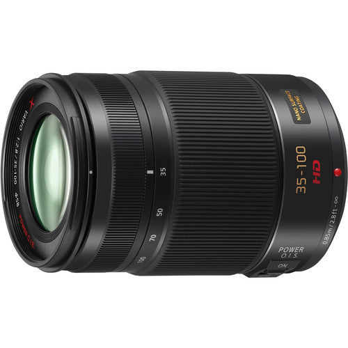 Panasonic Lumix G X Vario 35-100mm f2.8 OIS Black Lens