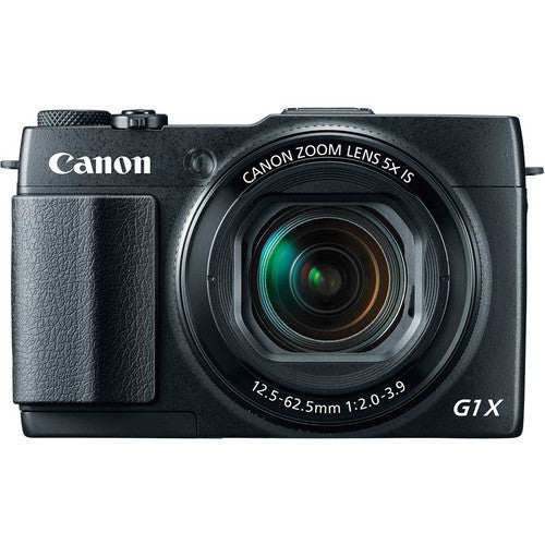 Canon PowerShot G1 X Mark II Black Digital Camera