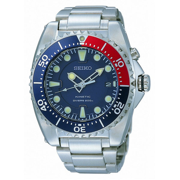 Seiko Kinetic Analog Divers SKA369 Watch (New with Tags)