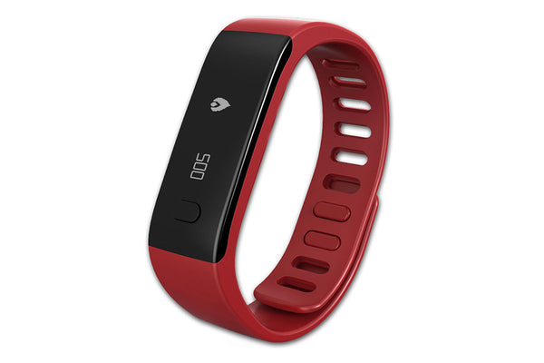 MyKronoz ZeFit Activity and Sleep Tracking Smartwatch Red