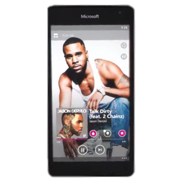 Nokia Lumia 535 Dual 8GB 3G Black Unlocked