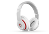 Beats Studio Wireless White Over Ear Headphone (MH8J2PA/B)