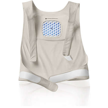 Philips BlueTouch PR3081-02 Adjustables Size S-M Pain Relief Patch Strap for Upper Back