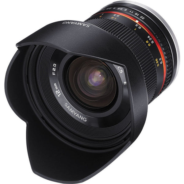 Samyang 12mm f/2.0 NCS CS Lens (M4/3)