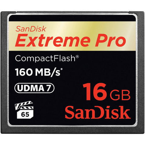 SanDisk Extreme PRO S 16GB SDCFXPS-016G (160MB/s) Memory Card