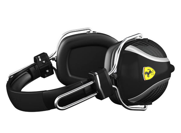 Scuderia Ferrari P200 Black Headphones